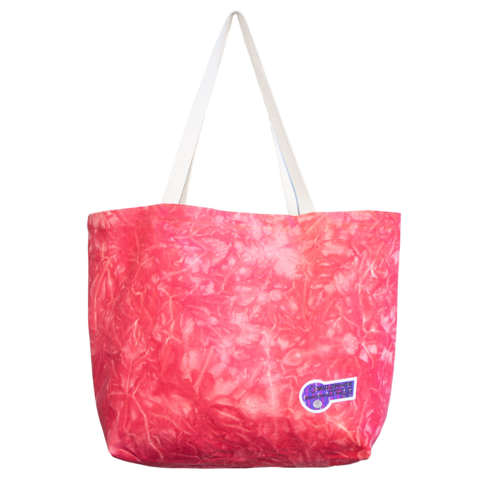 Red Crystal Tote Bag